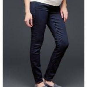 GAP skinny dark wash skinny jeans